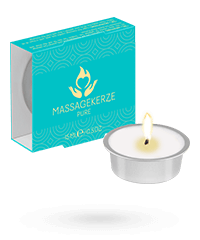Massagekerze Pure, 15 ml