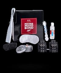 Geschenkbox 'Mr & Mrs Bond', 7‑teilig