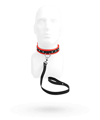 'Scarlet Couture Collar & Leash', 2teilig