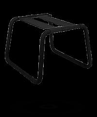 Stuhl mit elastischer Sitzfläche