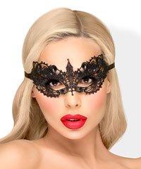 Filigrane Augenmaske mit Spitze