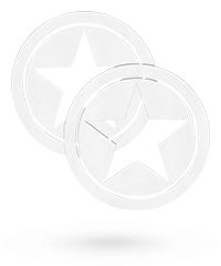 'Nipple Sticker - Open Circle and Star'