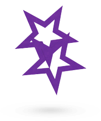 'Nipple Sticker - Open Stars'