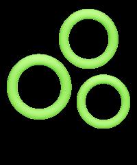 'Diversity Rings', 3-teilig, 25cm