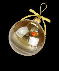 'I Rub My Duckie - Travel Holiday', 8cm