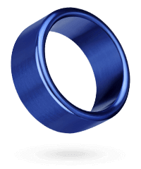 'Rocket Rings', 4cm