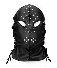 Henker-Leder-Maske mit Schnürung