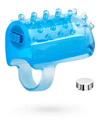 Fingervibrator inklusive Batterien