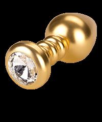 'Luv Plug', gold, 10cm