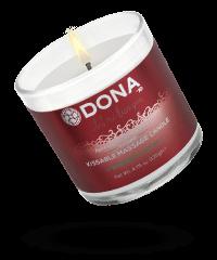 'Massage Candle Strawberry', 135g