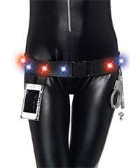 Polizeigürtel mit Lichtelementen