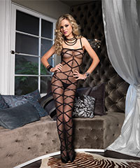 Bodystocking mit Cut Out