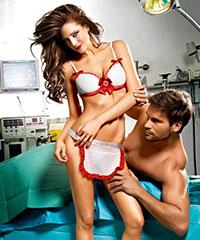 'Krankenschwester - Kostüm', 3teilig