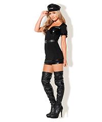 'The NY Police - Sexy Kostüm', 2teilig