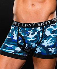 Knappe Camouflage-Shorts