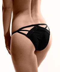 Sexy Slip im Bänder-Design
