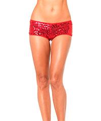 Sexy Shorts mit GlitzerPailletten