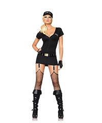 Sexy SWAT Officer-Set, 3teilig