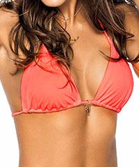 Triangel Bikini-Top mit Anhänger