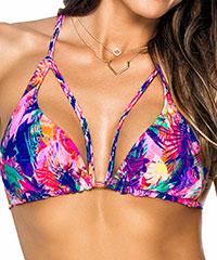Knalliges Triangel-Bikini-Top