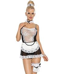 Dienstmädchen-Kostüm, 5teilig